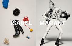Natasha Poly - Isabel Marant Campaign, F/W 2015