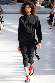 Imaan Hammam for Isabel Marant - Spring/Summer 2016 - Paris Fashion Week.