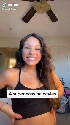 Hair Tutorials For Medium Hair, Cute Hairstyles For Medium Hair, Curly Hair Tips, Teen Hairstyles, Medium Hair Styles, Curly Hair Styles, Hair Styler, Dye My Hair, Aesthetic Hair