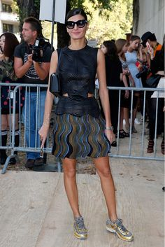 The Paris Fashion Week Looks Everyone Is Talking About via @WhoWhatWear