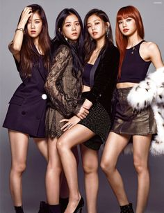 Black Pink Yes Please – BlackPink, the greatest Kpop girl group ever! Blackpink Fashion, Korean Fashion, Kpop Girl Groups, Kpop Girls, Forever Young, Blackpink Poster, Gq Magazine Covers, Gq Mens Style, Black Pink Kpop
