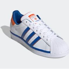 adidas skor vit guld, Adidas originals la trainer sneakers