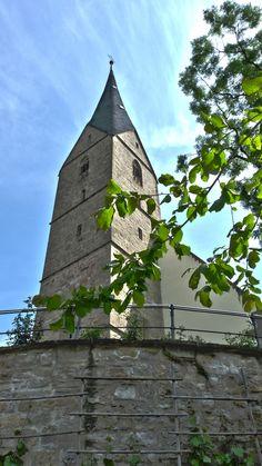 Alexander Kirche, Marbach am Neckar, Hintegrundbild für Huawei P9, 1080x1920 px