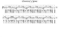 Chanters Song
