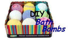A fun DIY Lush Bath Bombs tutorial