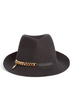 Stella McCartney Chain Detail Fedora $450; shop.nordstrom.com