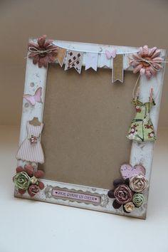 Cadre home d co r alis en carton mousse de 1 cm d 39 paisseur le cadre ext rieur est d cor des - Cadre photo mariage personnalise ...