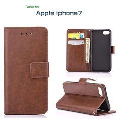 iPhone7 手帳型 ケース レザー ベーシックでシンプル 上質なPUレザー カード収納 アイフォン7 手帳型レザーケースip7-32-l60824…