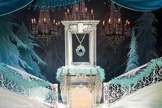 A holiday window display at Tiffany & Co. on Fifth Avenue in New York.