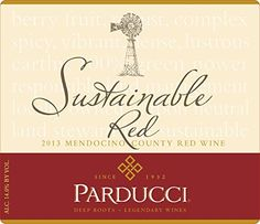 2013 Parducci Sustainable Red Blend Mendocino County 750 mL Wine *** You can find out more details at the link of the image.