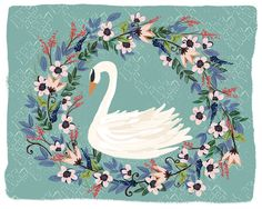 Swan Wreath — Joy Laforme