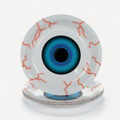 Eyeball Dessert Plates - OrientalTrading.com