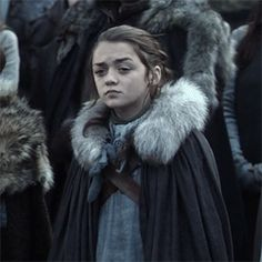 Arya Stark // Game Of Thrones // Maisie Williams