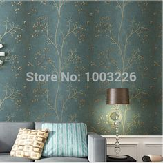 Tree Pattern Wallpaper roll Luxury Non-Woven Geometry mrual Wall Paper for Living Room Home Decor Vintage papel de parede 3D