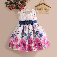 2015 date robes élégantes pour imprimé filles Party Girl Dress fleur marque vêtements enfants ( 6 pcs/lote ) GD21008-46R-Robes pour filles-Id du produit:1811057693-french.alibaba.com