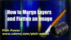 Separate layers in Pixlr can be combined into a single image by using the Merge feature. This video shows you how to merge layers and to flatten the image. Pixlr Power: www.udemy.com/pixlr-power #pixlr #tutorials  #photoediting