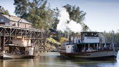 Port of Echuca, The Murray, Victoria, Australia