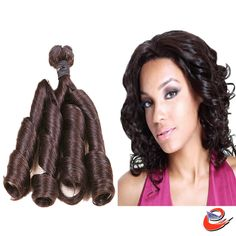 Sexy Aunty remy Funmi curls hair long sexy Virgin remy cheap hair weft human Brazilian hair extensions on different hairstyles|Eunice Hair weaving