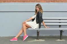 reebok skyscape sneakers: allie wears - a boston based personal style blog