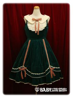 BtSSB/Alice and the Pirates- Operetta velveteen jumper skirt