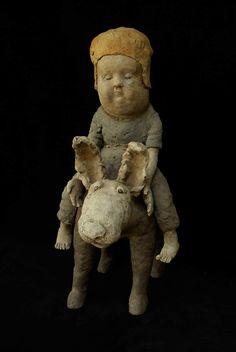 Sophie Favre | Artiste, Sculpteur Art Fantaisiste, Raku Pottery, Ceramic Birds, Whimsical Art, Figurative, Art Dolls, Sculptures, Teddy Bear, Statue