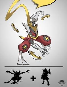 Pokémon Fusion The Assassin by rey-menn on DeviantArt Pokemon Fusion Art, Pokemon Fan Art, Pokemon Fake, Pokemon Go, Pokemon Cards, Digimon, Pokemon Breeds, Pokemon Memes, Equipe Pokemon