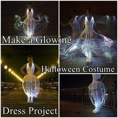 This step by step tutorial of how to make a glowing Halloween costume dress project that will light up the room. Then this tutorial is for you. This is a great project because you can adapt the general instructions to fit whatever dress you have or whatever style you choose to sew. Make sure you like The Homestead