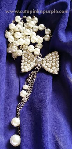 #sammydress #Bow #pearls #necklace #accessories  http://www.cutepinknpurple.com/2014/05/sammydress-haul.html#more