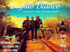 "CGCWebRadio®: Búfalo Balnco Presenta ""Un Largo Camino"""