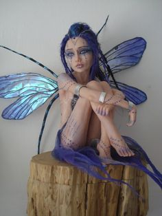 SHADOWSCULPT OOAK LARGE fairy commission custom by shadowsculpt, £230.00