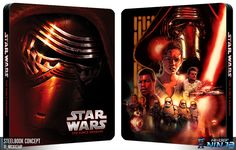 Star Wars: The Force Awakens #steelbook #concept
