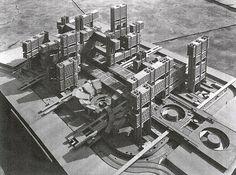 Кензо Танге | Renovación дель Дистрито де Токио | Токио, Япония | 1963