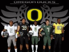 Oregon continued the madness in 2009 and made us look up our old combinatorics formulas to answer the question: How many combos can one team have? Oregon Ducks Football, Oregon Ducks Game, Oregon Jerseys, Best Uniforms, Phil Knight, College Football Season, Football Uniforms, University Of Oregon, Championship Game