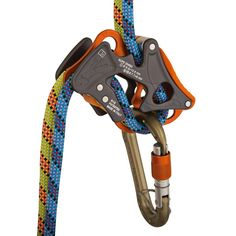 Climbing Technology Alpine Up Belay Device (for rock climbing) | The Alpine-Up has three modes: dynamic, click-up, and guide. In dynamic mode, the Alpine-Up functions exactly like a tube device for standard belaying and rappelling. In click-up mode, it acts as an assisted braking device that will catch any fall. In guide mode, the Alpine-Up will operate directly from the anchors while maintaining its assisted breaking ability. | at www.weighmyrack.com/ #rock #climbing #gear #review #deals