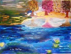 SEA ROSES Roses, Painting, Art, Art Background, Pink, Rose, Painting Art, Kunst, Paintings