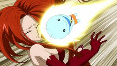 Anime Fairy Tail, Fairy Tail Characters, Erza Scarlet, Blue Cats, Gemini, Dragon Ball, Cool Girl, Celestial, Flare