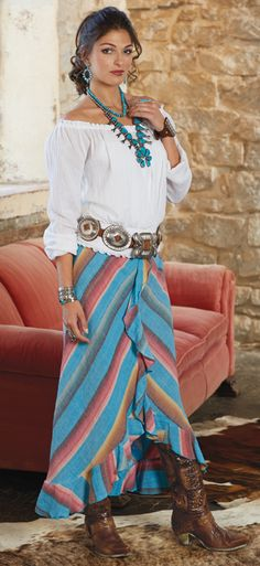 ❤ Cowgirls Crow's Nest Trading Co Country Fashion, Country Outfits, Boho Fashion, Fashion Outfits, Womens Fashion, Cowgirl Fashion, Country Dresses, Fashion Tips, Cowgirl Chic