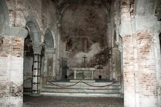 Santo Stefano - Medevial Church in Bologna