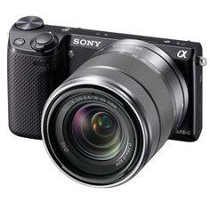 Sony Alpha NEX-5N Camera Kit with Sony 18-55mm F3.5-5.6 OSS Lens, Black!