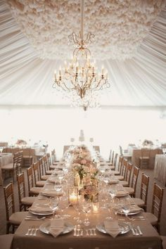 beige neutral wedding reception decoration