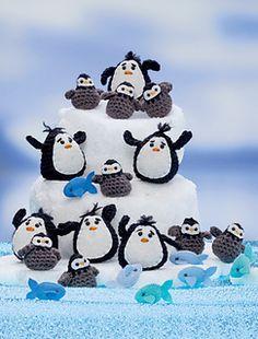 Penguins: Crochet a zoo pattern by Megan Kreiner