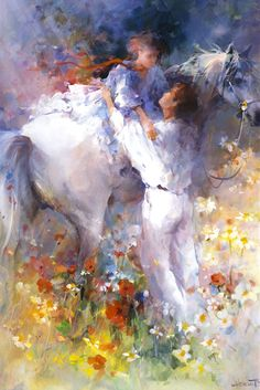 Willem Haenraets: biography of the artist Painted Horses, Art Triste, Painting & Drawing, Watercolor Paintings, Watercolors, Equine Art, Horse Art, Beautiful Paintings, Painting Inspiration