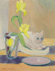 George Benjamin Luks: The White Cat (1930)