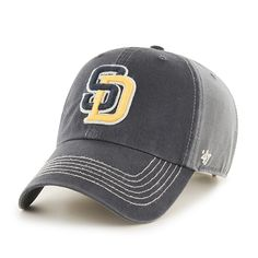6755ae090f964 San Diego Padres Cronin Clean Up Charcoal 47 Brand Adjustable Hat