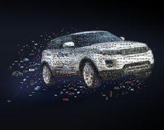 Mosaics in advertising