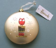Owl ornament from Harrods
