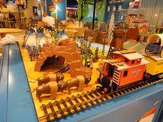 Retro Western Diorama at Playmobil FunPark Athens, thanks to George Mavraganis, Aggelos Giakoumatos & Panagiotis Pandelis!