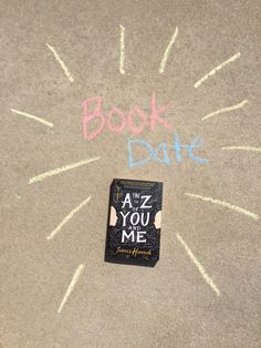 Our Book Date this week is James Hannah's THE A TO Z OF YOU AND ME.
