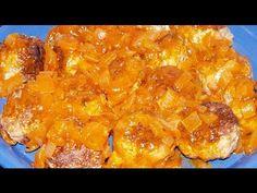 Albóndigas con Salsa Dukan - Meatballs in Sauce - Receta Fase Crucero
