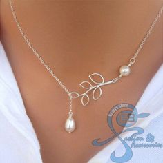 Kalung Fashion Korea Import Bandul Mutiara